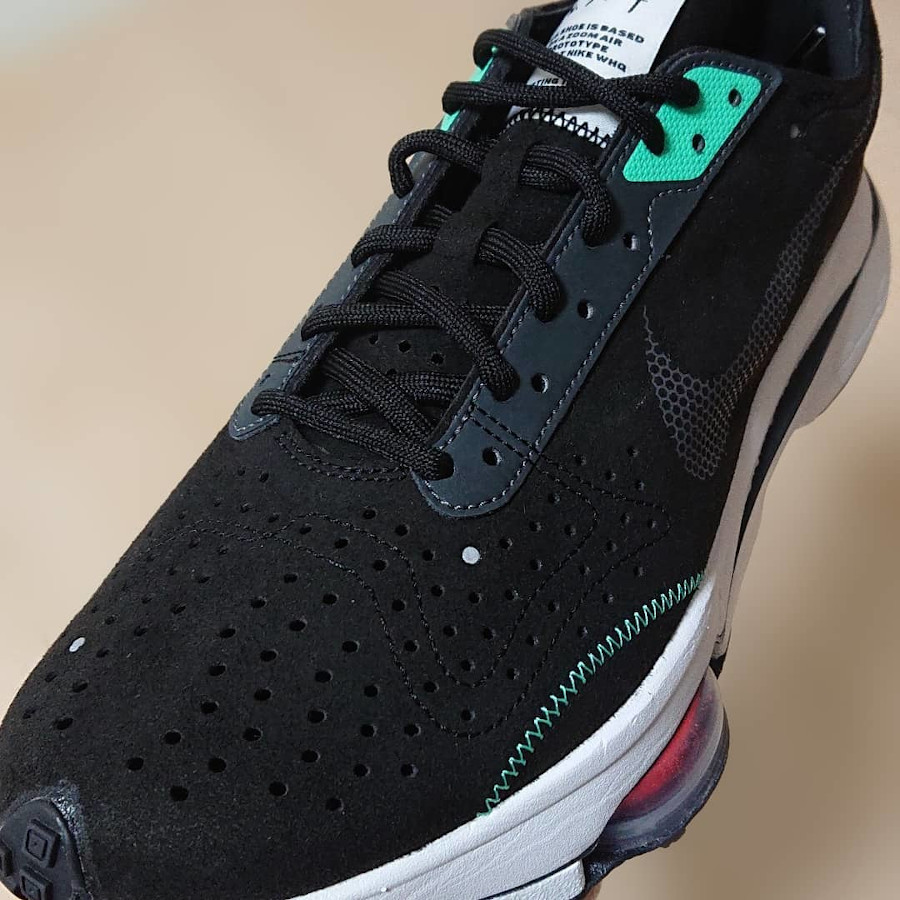 Nike Air Zoom Type noire et vert menthe (5)