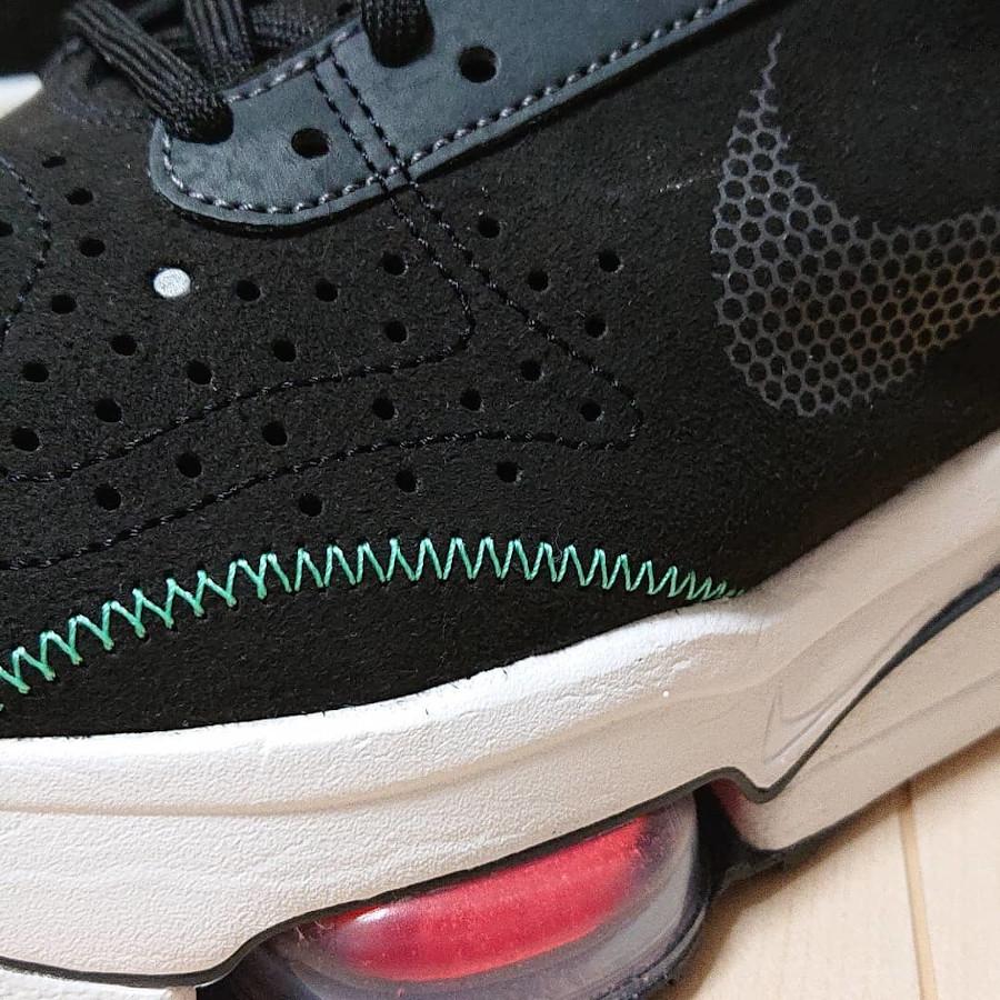 Nike Air Zoom Type noire et vert menthe (7)