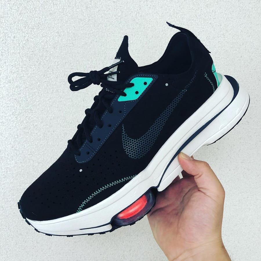 Nike Air Zoom Type noire et vert menthe (8)