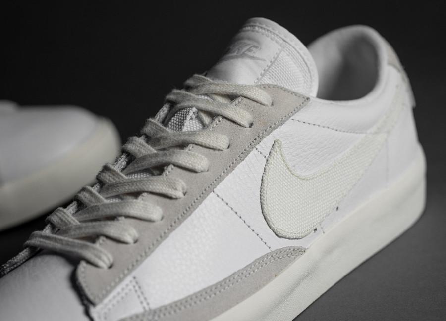 Nike-Blazer-basse-2020-pour-homme-blanc-cassé-2