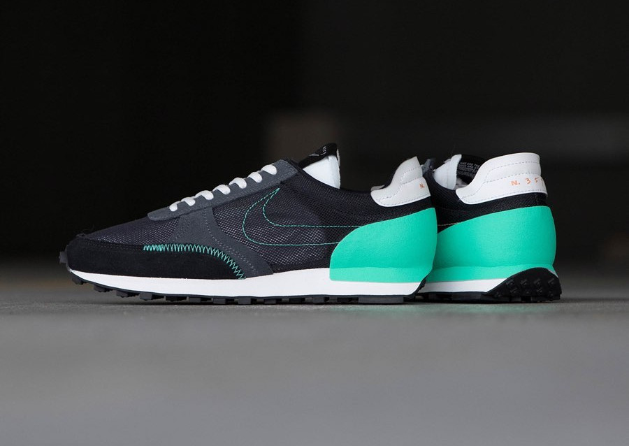 Nike Daybreak Type homme noire 354 noire blanche et vert menthe (3)