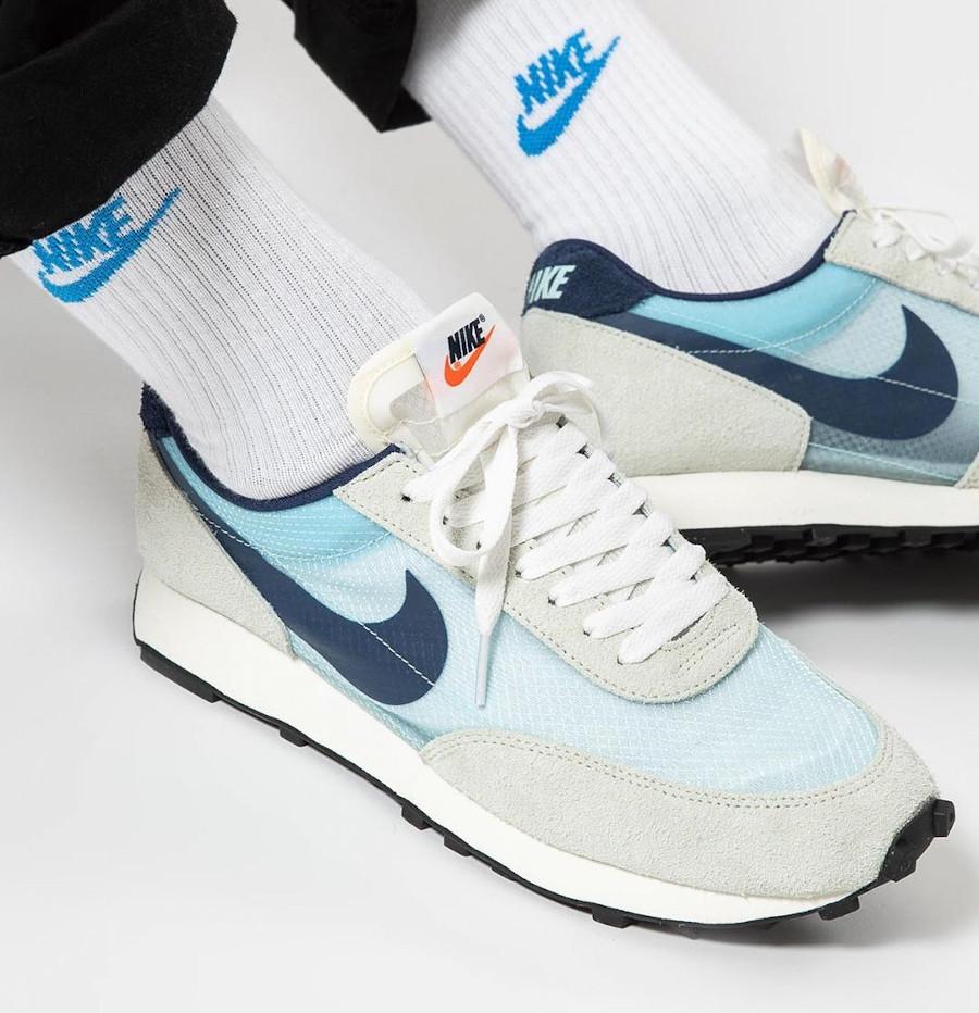 Nike Dbreak grise blanche et bleu ciel (2)