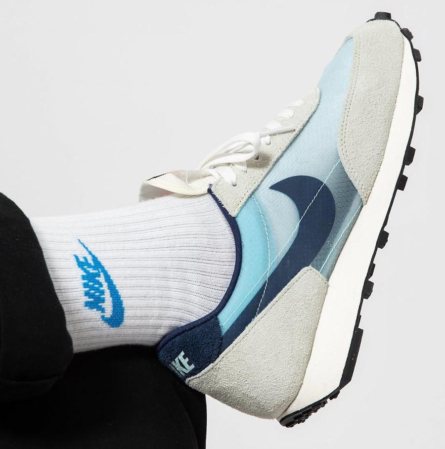 Nike Dbreak grise blanche et bleu ciel (3)