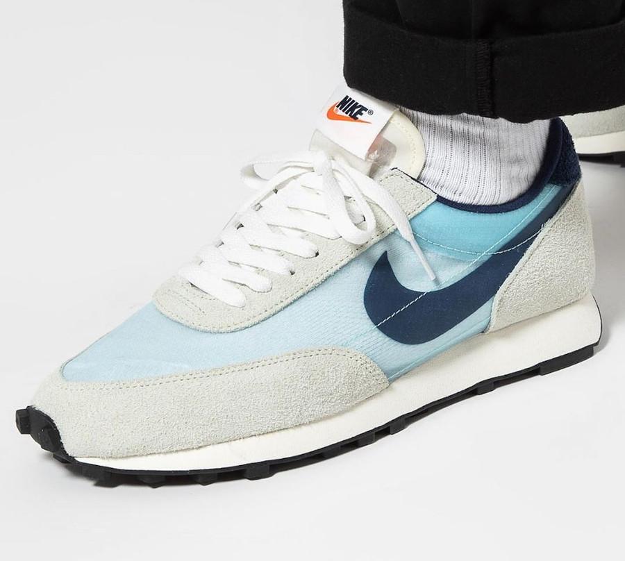 Nike Dbreak grise blanche et bleu ciel (4)