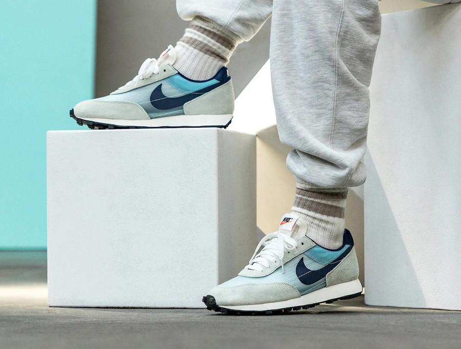 Nike Dbreak grise blanche et bleu ciel (6)