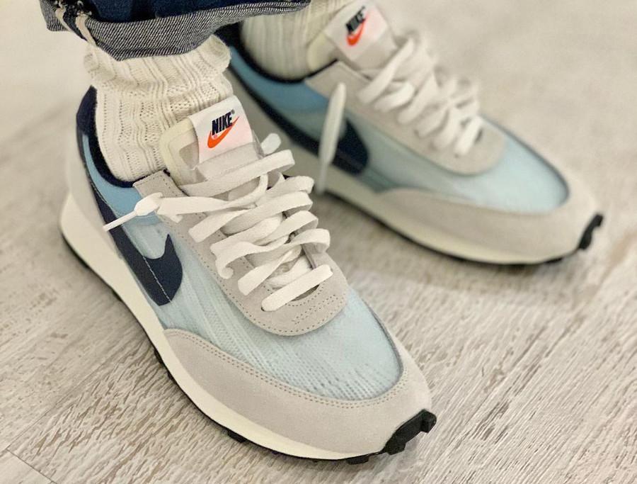 Nike Dbreak grise blanche et bleu ciel (couv)