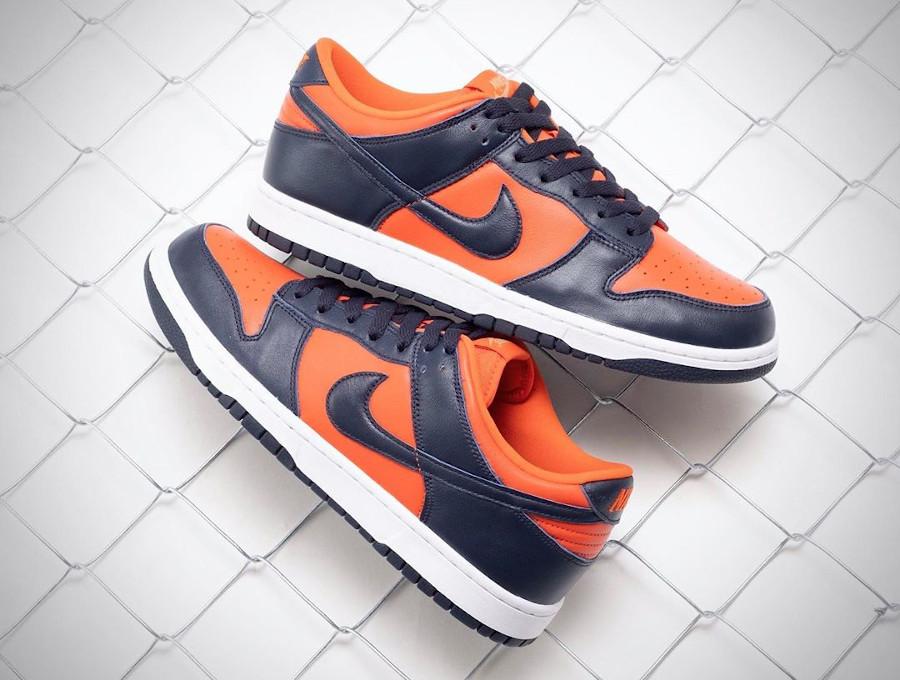Nike Dunk Low SP Champ Colors University Orange CU1727-800