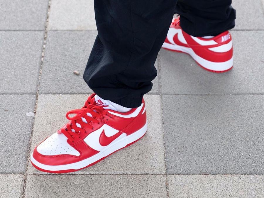 Nike Dunk Low SP St John's University Red CU1727-100