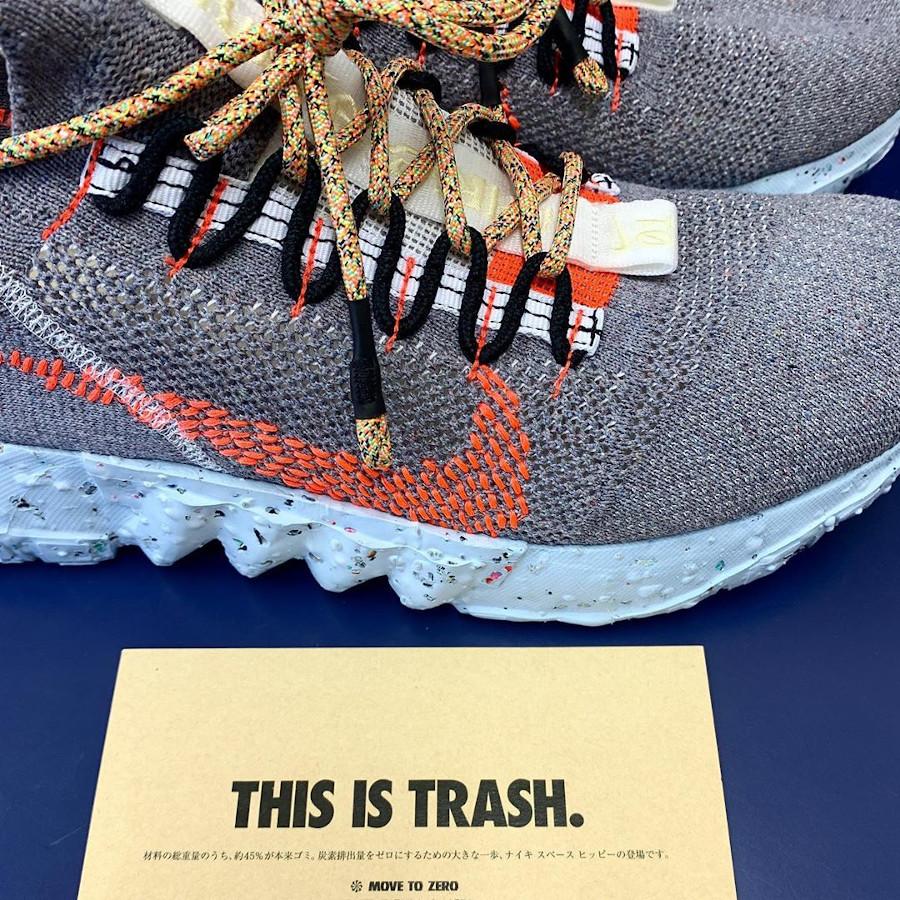 Nike Space Hippie 01 avec des matériaux recyclés (3)