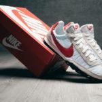Nike Waffle Racer White University Red Platinum Tint