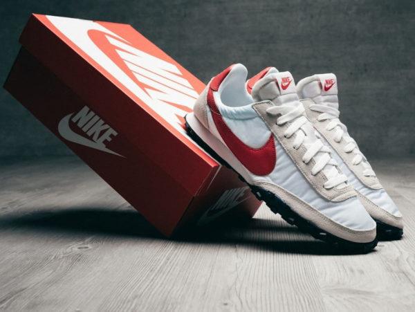 Nike Waffle Racer White University Red CN8116 100