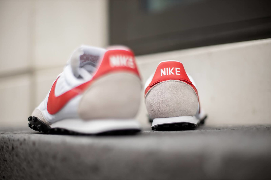 Nike Waffle Racer homme 2020 blanche grise et rouge (1-3)