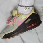 Nike Wmns Air Max 90 Premium Velvet Brown Pink (Cuban Link)