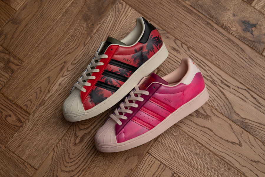Size x Adidas Superstar Romeo & Juliet