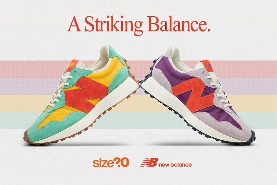 Size? x New Balance 327