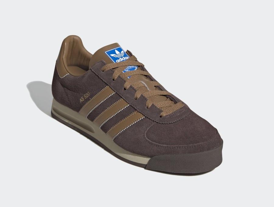 Adidas AS 520 marron et bleue pour homme (3)