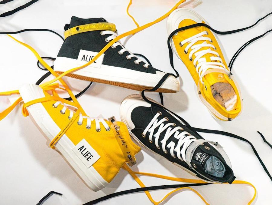 adidas nizza jaune