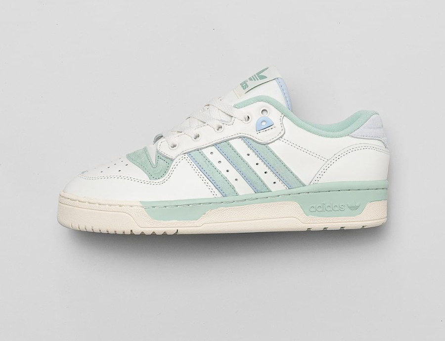 Adidas Rivalry Lo homme blanche vert menthe (0)