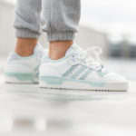 Adidas Rivalry Lo Cloud Off White Green Tint