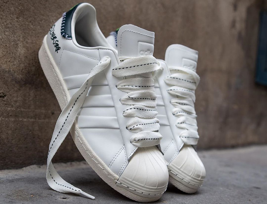 Adidas Superstar 50th JH blanche et noire (0-1)