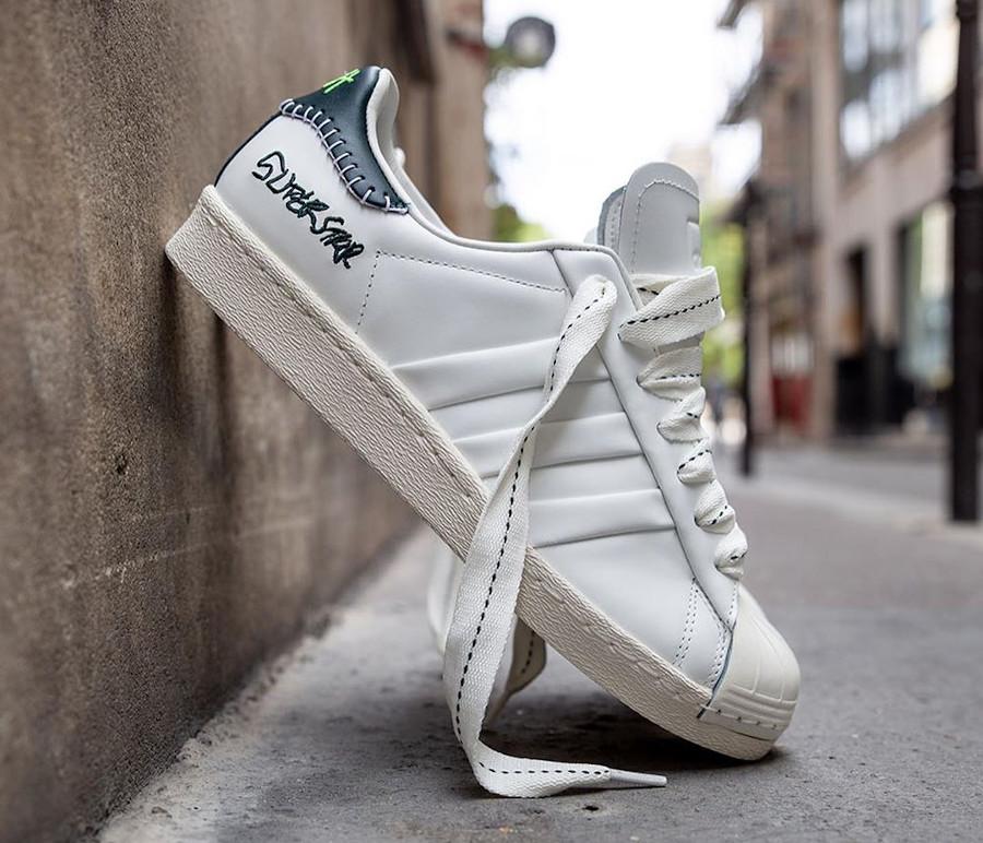 Adidas Superstar 50th JH blanche et noire (0)