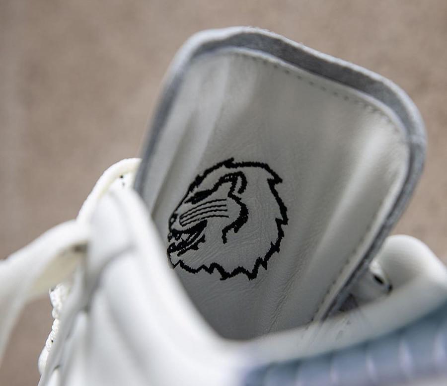 Adidas Superstar 50th JH blanche et noire (1)