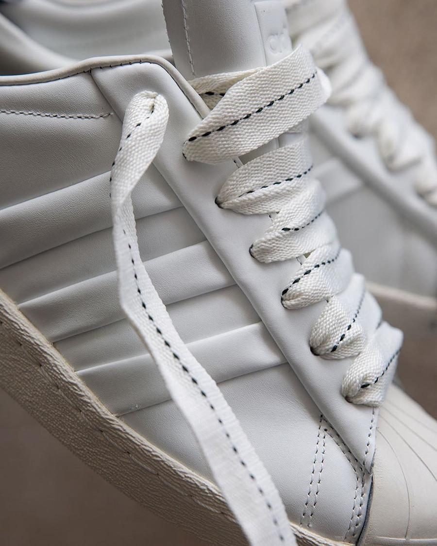 Adidas Superstar 50th JH blanche et noire (2)