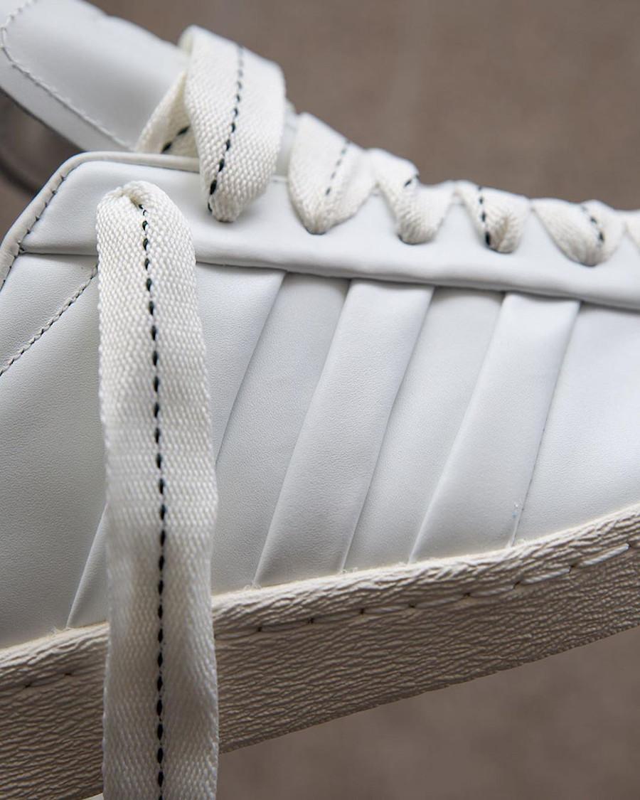Adidas Superstar 50th JH blanche et noire (3)