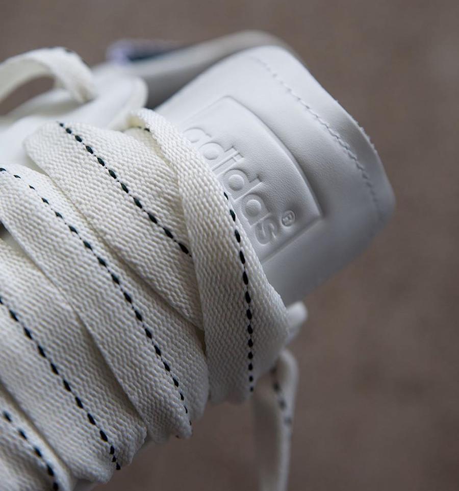 Adidas Superstar 50th JH blanche et noire (8)