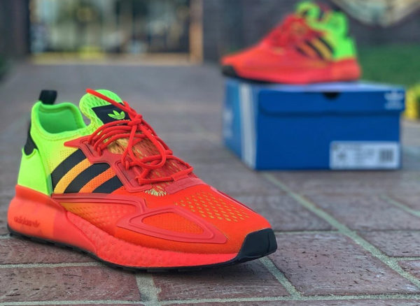 Adidas ZX 2K Boost 710 Solar Yellow Red FW0482