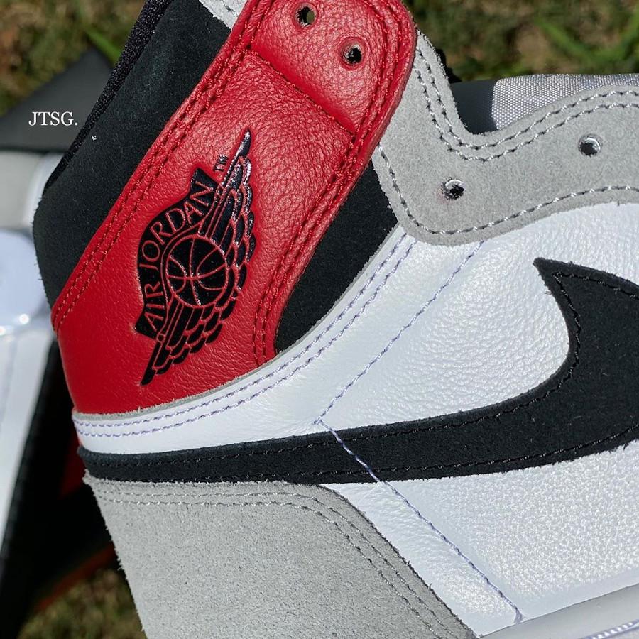 Air Jordan 1 Hi 85 blanche grise et rouge style Union LA (2-1)