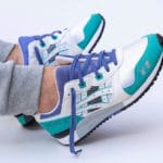 Asics Gel Lyte 3 OG White Teal Blue 'Emerald' 2020