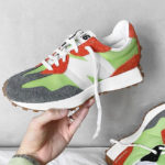 New Balance 327 Energy Lime