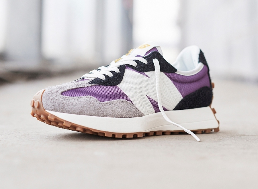 New Balance 327 WS327COA Purple Grey Black