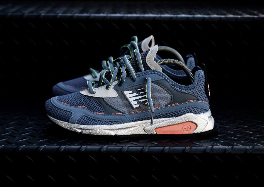 New Balance X Racer msxrchns bleu et rose pas cher