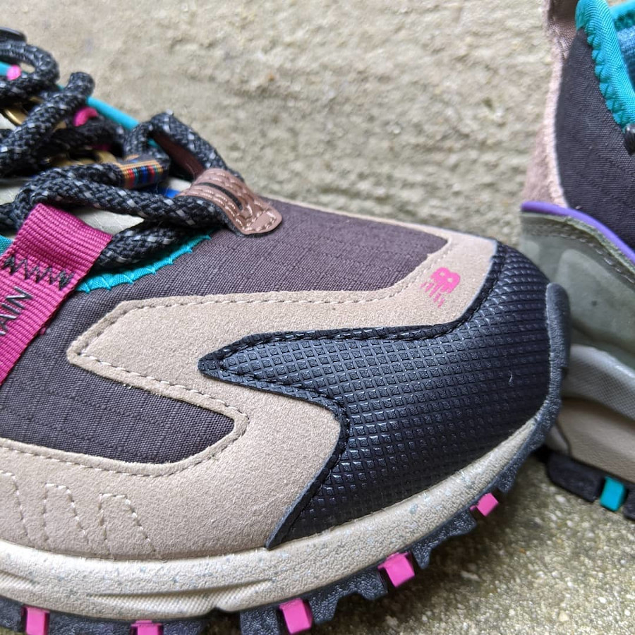 New Balance X-Racer outdoor noire grise rose et turquoise (2)