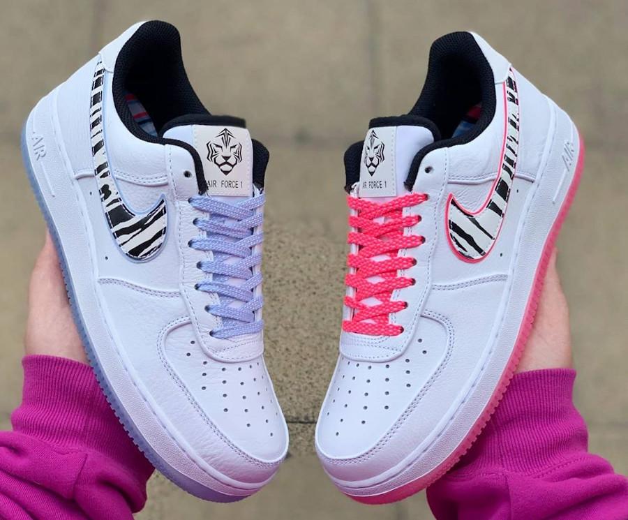 Nike Air Force 1 '07 QS South Korea CW3919 100 (1)