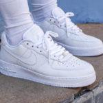 Nike Air Force 1 '07 Premium Craft White Vast Grey