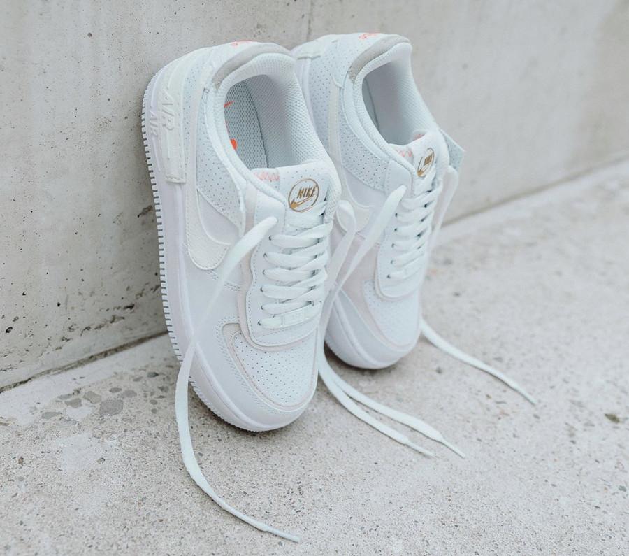 CZ8107-100 : que vaut la Nike Air Force 1 AF1 Shadow White ...