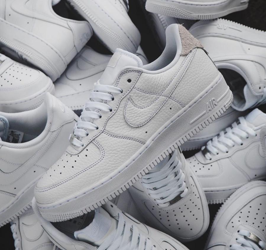 Nike Air Force 1 Low Craftsmanship blanche et grise (1)