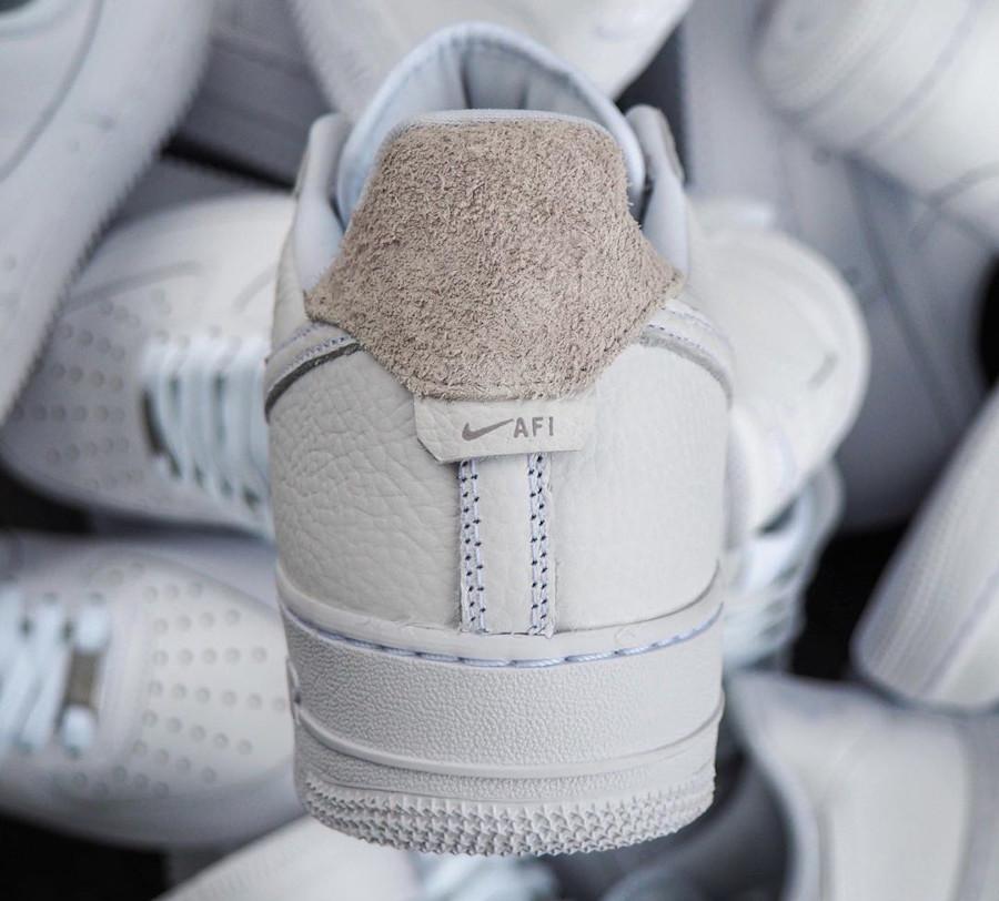 Nike Air Force 1 Low Craftsmanship blanche et grise (2)