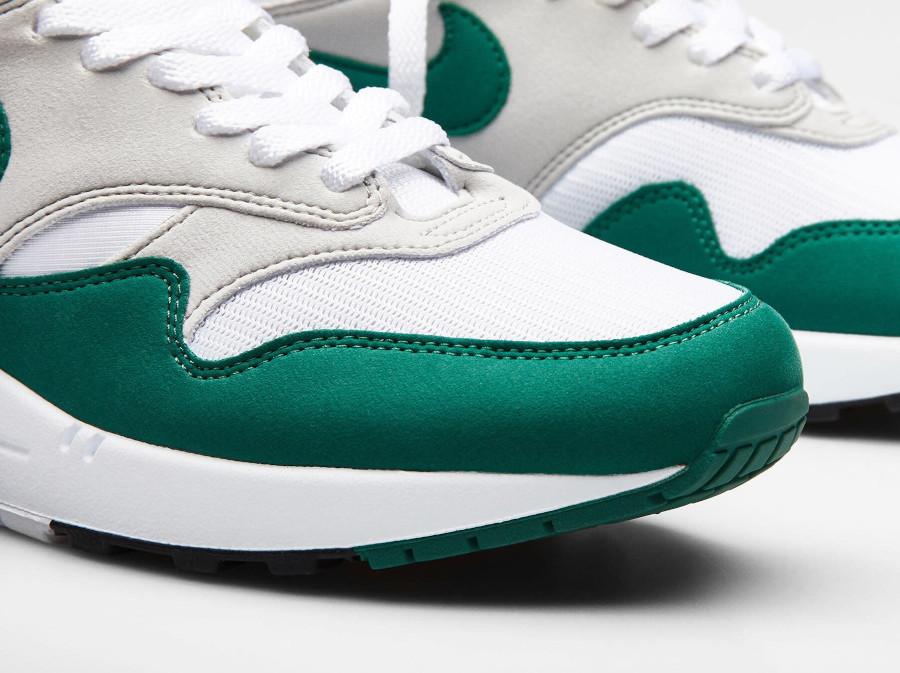 Nike Air Max 1 1987 verte grise et blanche (6)