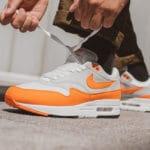 Nike Air Max 1 OG Anniversary Magma Orange Neutral Grey