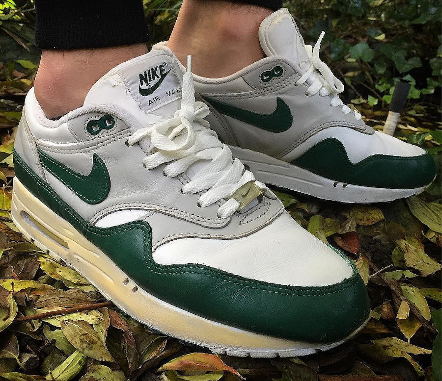Nike Air Max 1 OG Leather Forest Green (1998)