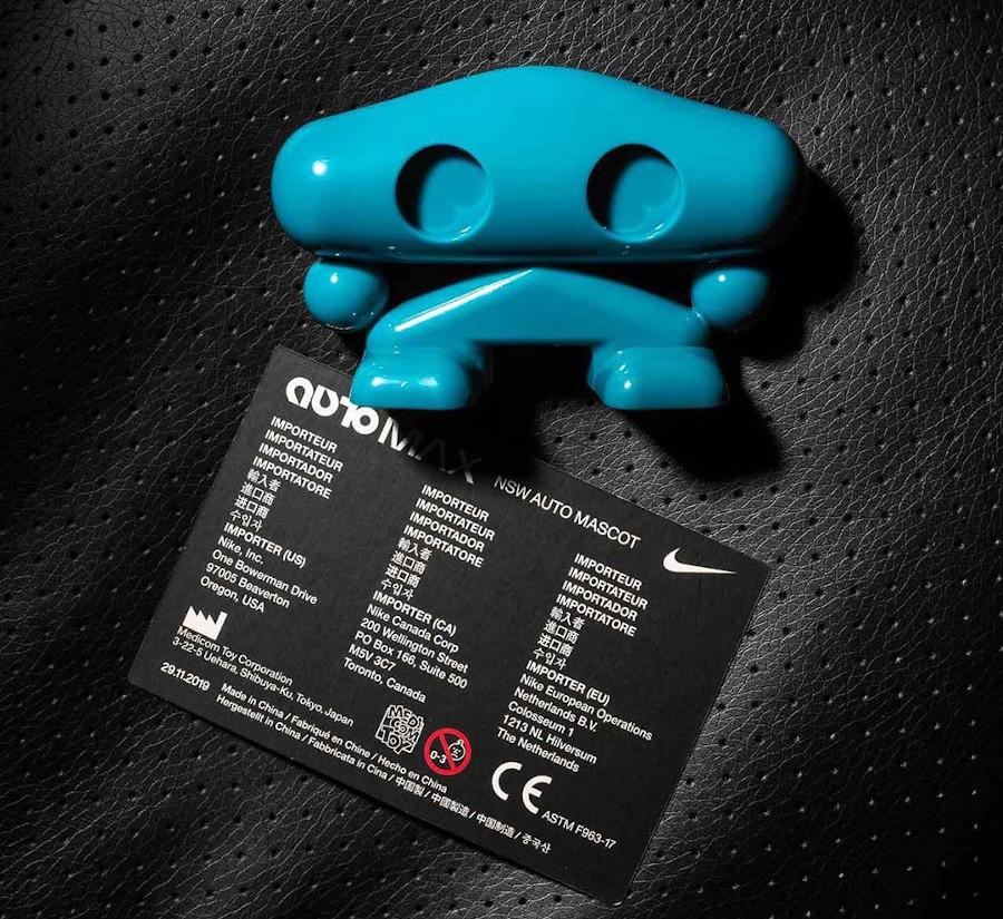 Nike Air Max 90 au laçage automatique grise et noire (2)