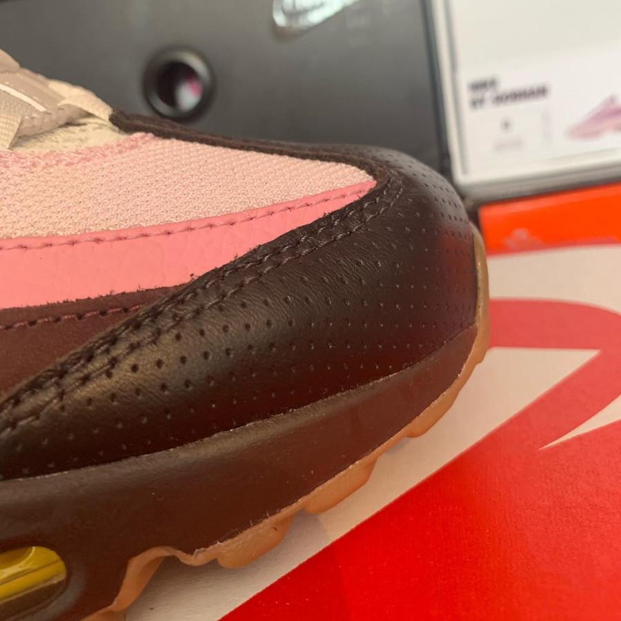 Nike Air Max 95 brun velours jaune opti (7)
