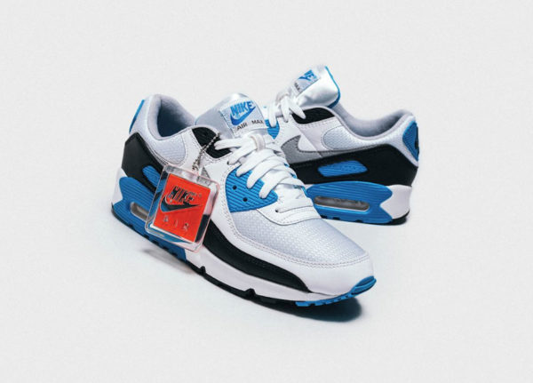 Nike Air Max III 90 OG Recrafted Laser Blue CJ6779 100