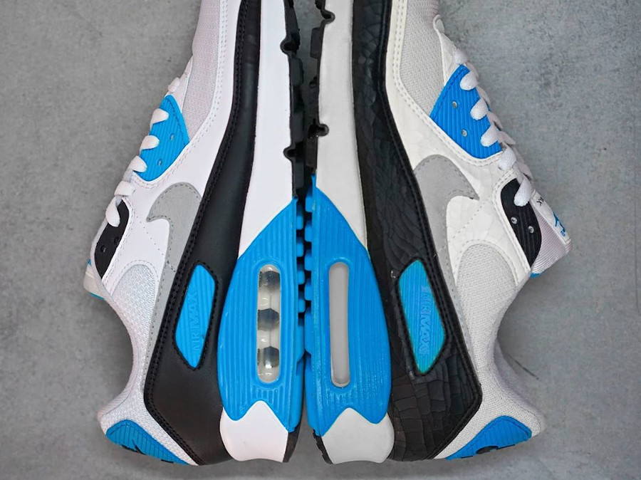 Nike Air Max III Laser Blue 1990 vs 2020 (1)