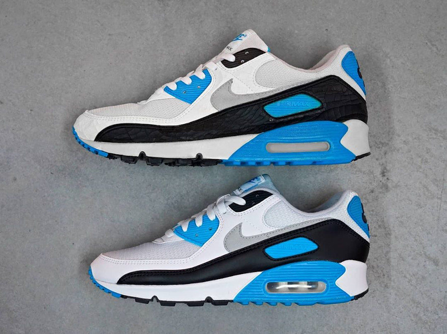 Nike Air Max III Laser Blue 1990 vs 2020 (3)