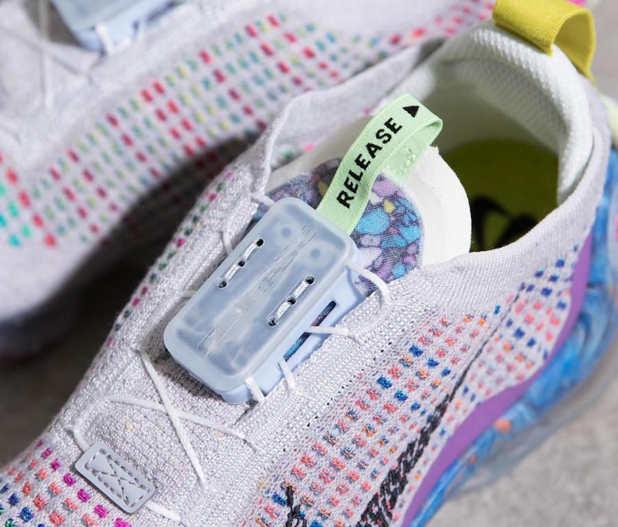 Nike Air Vapormax 2020 en Flyknit recyclé multicolore (3)